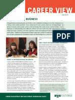 International Business Career View