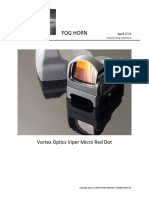 Vortex Optics Viper Micro Red Dot