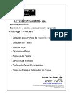 Catalogo Molduras, Gesso, Etc.