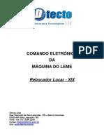 Manual Comando Eletrônico Da Máq. Do Leme - Locar XIX