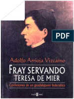 Arrioja-Fray Servando Teresa de Mier-Confesiones de un guadalupano