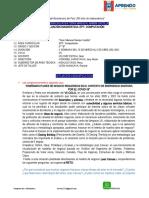 EVALUACIÓN DIAGNOSTICA EPT- 5° B