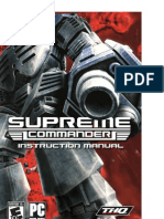 Supreme Commander manual