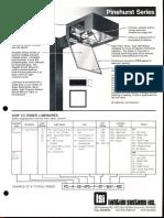 LSI Pinehurst Series Spec Sheet 1987