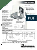 LSI Sunburst Series Spec Sheet 1987