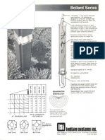 LSI Bollard Series Spec Sheet 11-84