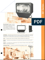 LSI RF Series Floodlight Spec Sheet 1981