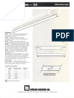 LSI Oasis Six Series Fluorescent Spec Sheet 1989