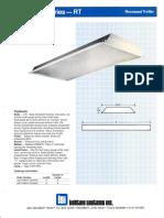 LSI Reflection Series Fluorescent Spec Sheet 1987
