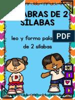 Leo y Formo Palabras de 2 Sílabas PDF