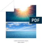 Cambio Climatico en El Oceano