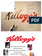 kellogg case study swot The swot analysis is extremely useful to determine what might help the firm to  accomplish its objectives and what obstacles must be overcome to attain results.