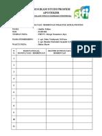 Form Bimbingan Mahasiswa