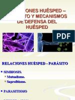 Relacion Huesped Parasito Clase