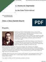 Bertolt Brecht – Portal dos Atores