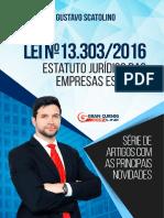 Lei Nº 13.303 - 2016 - Estatuto Jurídico Das Empresas Estatais