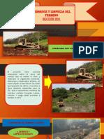 Desbroce y Limpieza Del Terreno 201 - 202 - Cayra Perez Juan Ricardo