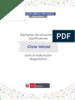 Fascículo de Evaluación Diagnostica CicloInicial EBA 10-03-2021