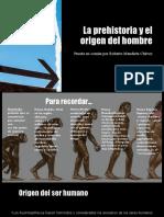 Los periodos de la Prehistoria