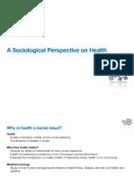Sociological Health Slides