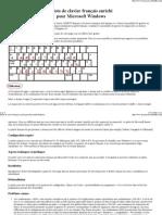 Pilote de clavier français enrichi pour Microsoft Windows