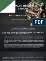 Presentacion Diplomado Del Juicio de Amparo Juez Salvador Jimenez