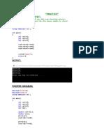 C++ codes (8)
