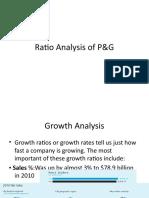 procter and gamble financial ratios