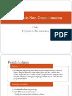 PPT ardhi iridosiklitis non granulomatosa