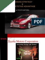 Planning Strategy & Competetive Advantage of Toyota Motors