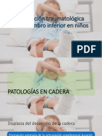 01 Evaluación Traumatológica Del Miembro Inferior en Niños (1)