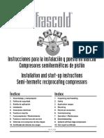 Frasco Chiller Compressor - Manual