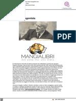 Carlo Bo, agonista - Il Mangialibri.com, 30 marzo 2021