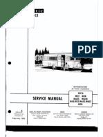 Dometic Service Manual MC16,M27, M28, MA35, MA40, M50,M52, MA52, MB52, M70