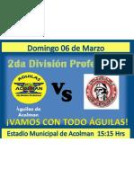 futbol 7 Marzo