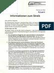 Zum Lokführer-Streik 2011