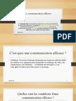 La communication efficace developpement personnel