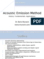 Muravin - Acoustic Emission Method - short presentation for students