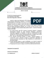 5. Cu Privire La Acceptarea Grantului de La Ministerul Agriculturii Dezvoltrii Regionale i Mediului