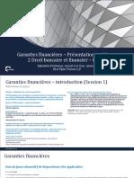 Garanties Financières en droit français