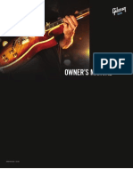 Gibson Guitars USA Owners Manual