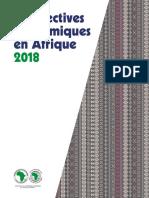 African Economic Outlook 2018 - FR Statistiques