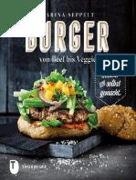 Burger Von Beef Bis Veggie Gesund Und Selbst Gemacht