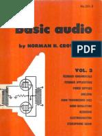 Basic Audio, Norman Crowhurst 1959 V3