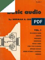 Basic Audio, Norman Crowhurst 1959 V1