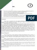 Financial Management (Payongayong, 2nd ed) - Chapter 1