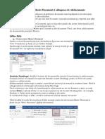 Crearea unui Master Document