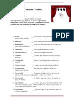 Ficha de Trabalho-texto dramático