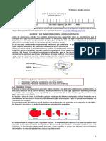 Ciencias Naturales - Modelos Atomicos Guia 8º BAsico 2020