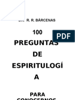 100 PREGUNTAS ESPIRITISMO